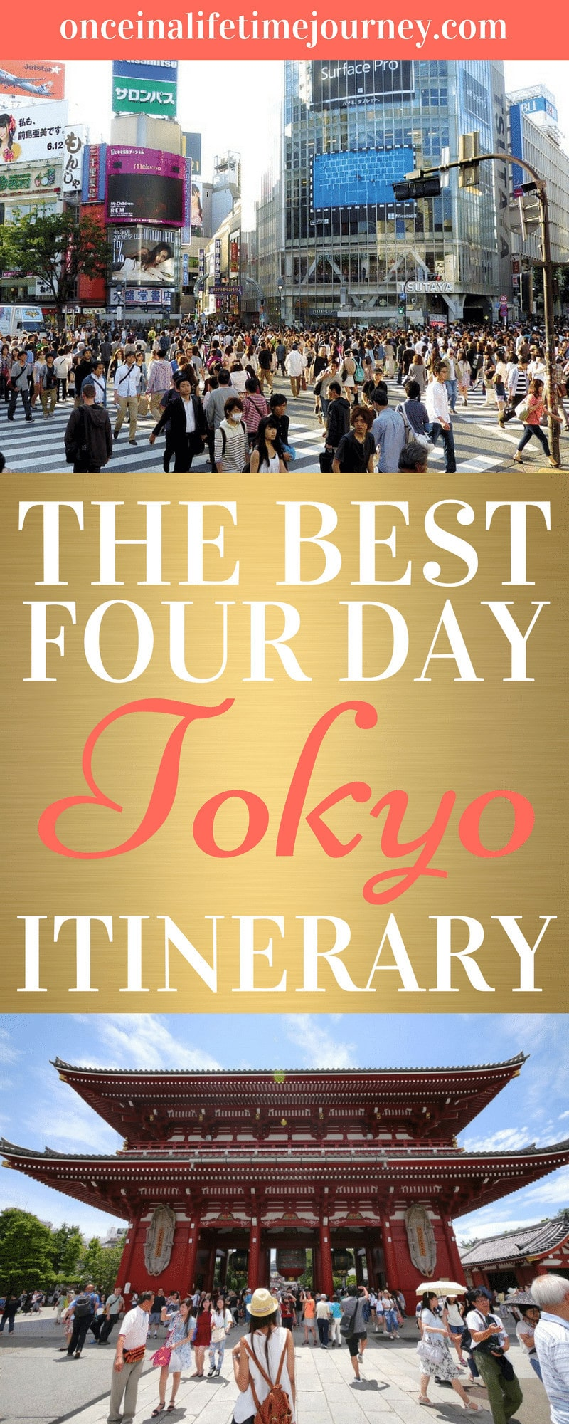 The Best of Tokyo Itinerary