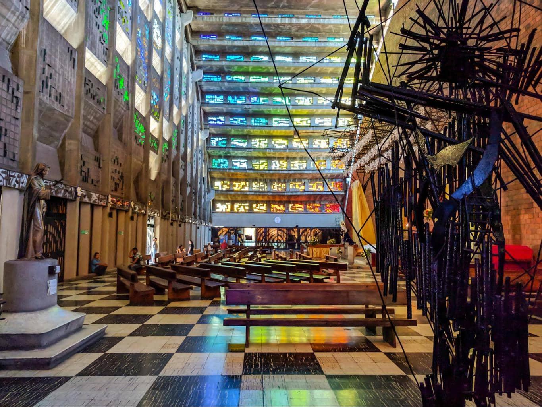Iglesia El Rosario Interior