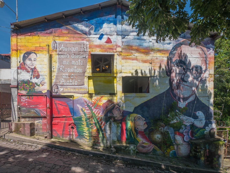 Street Art in Panchimalco