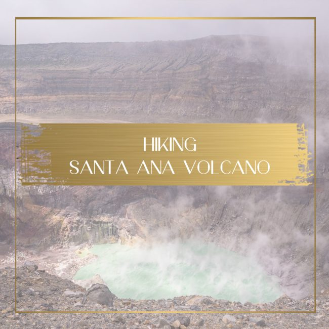 Hiking Santa Ana Volcano Feature