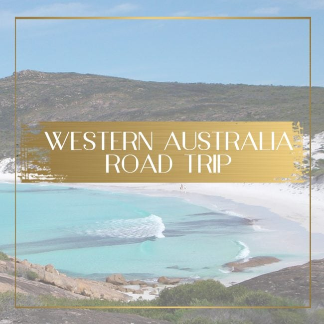 Luxury Western Australia Road Trip Main