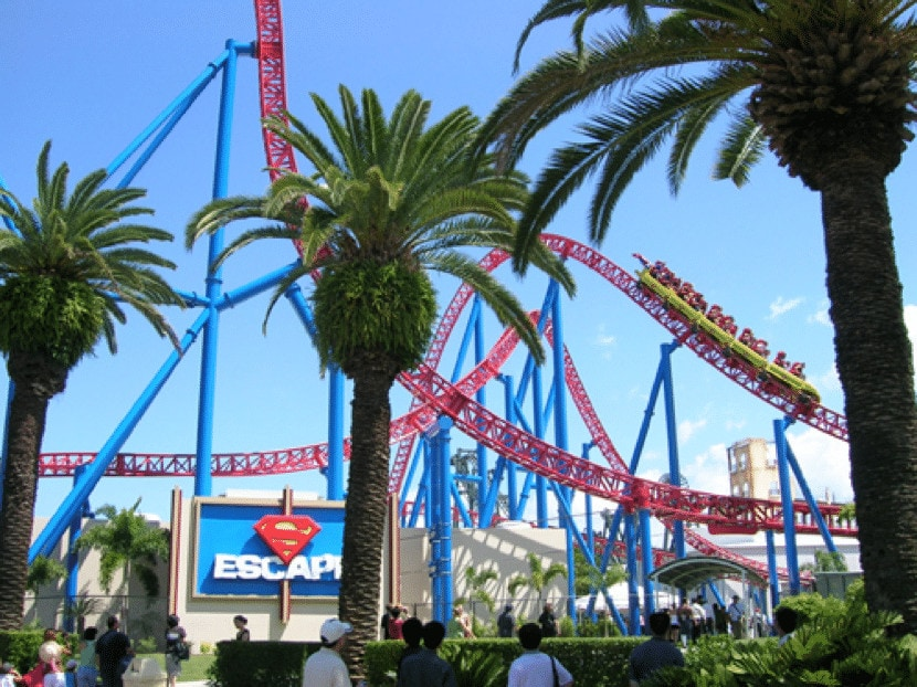 Movie World in the Gold Coast