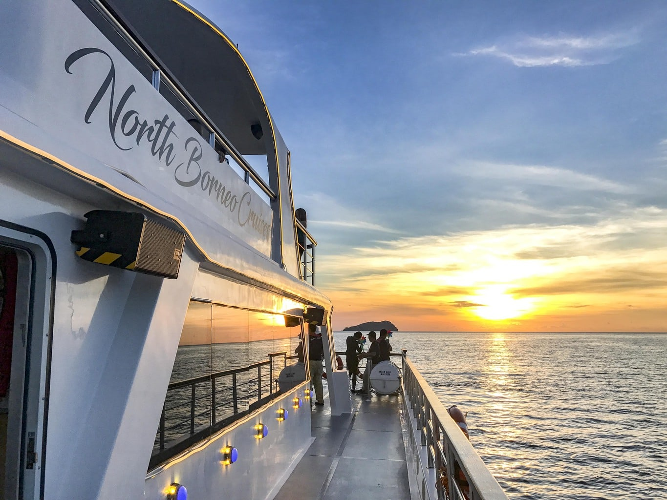North borneo cruise view