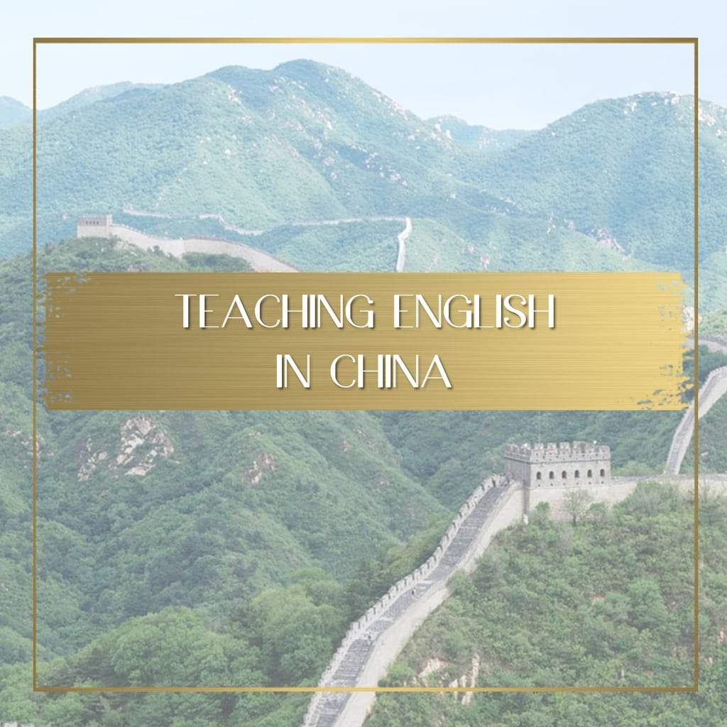 Teaching English in China Feature