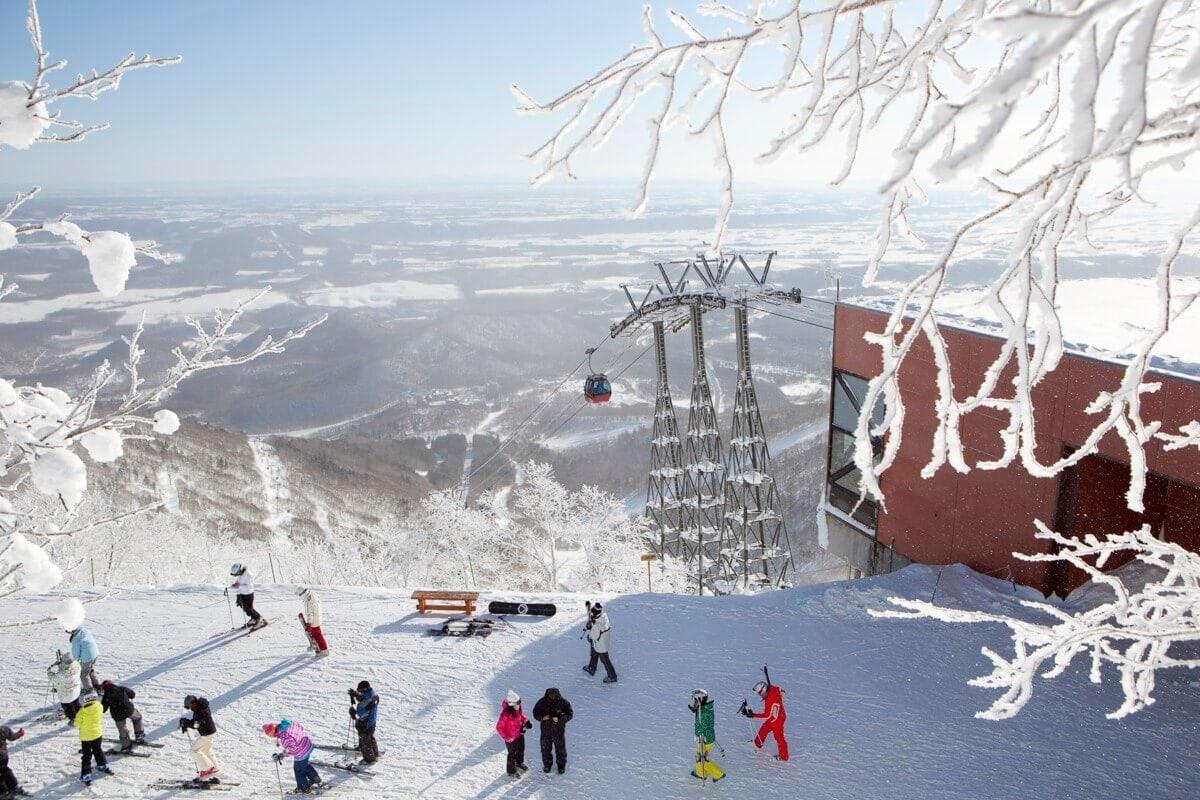 Clubmed ski resort Japan