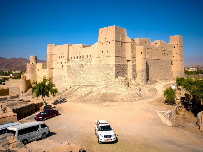 Bahla Fort Exterior