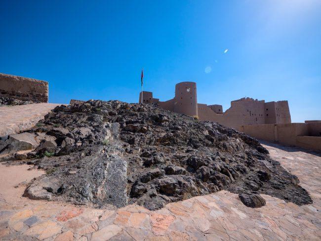 Bahla Fort flag