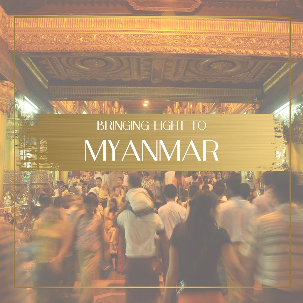 Bringing light to Myanmar - uplifting the Yangon community
