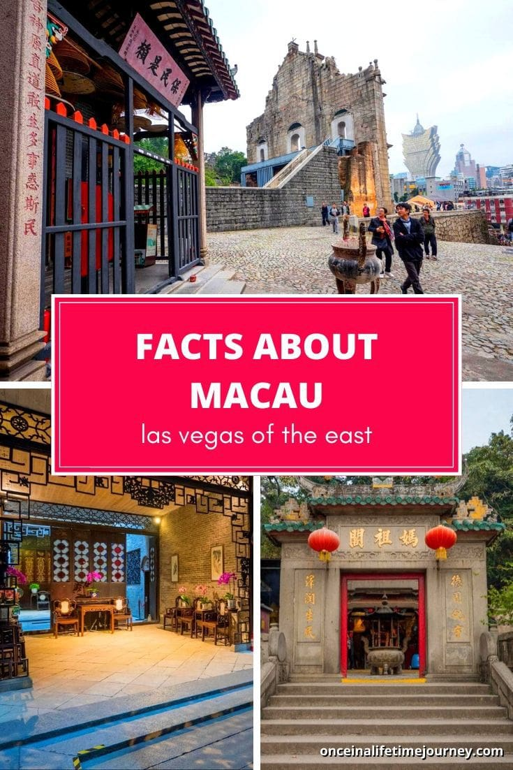 Interesting facts about Macau