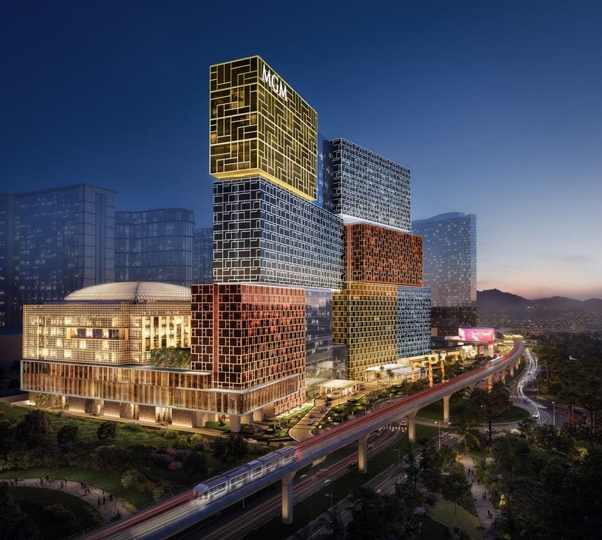 MGM Cotai building