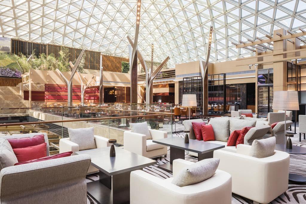 MGM Cotai dining area