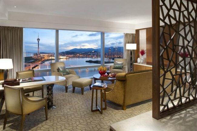 Mandarin Oriental Macau Suite view