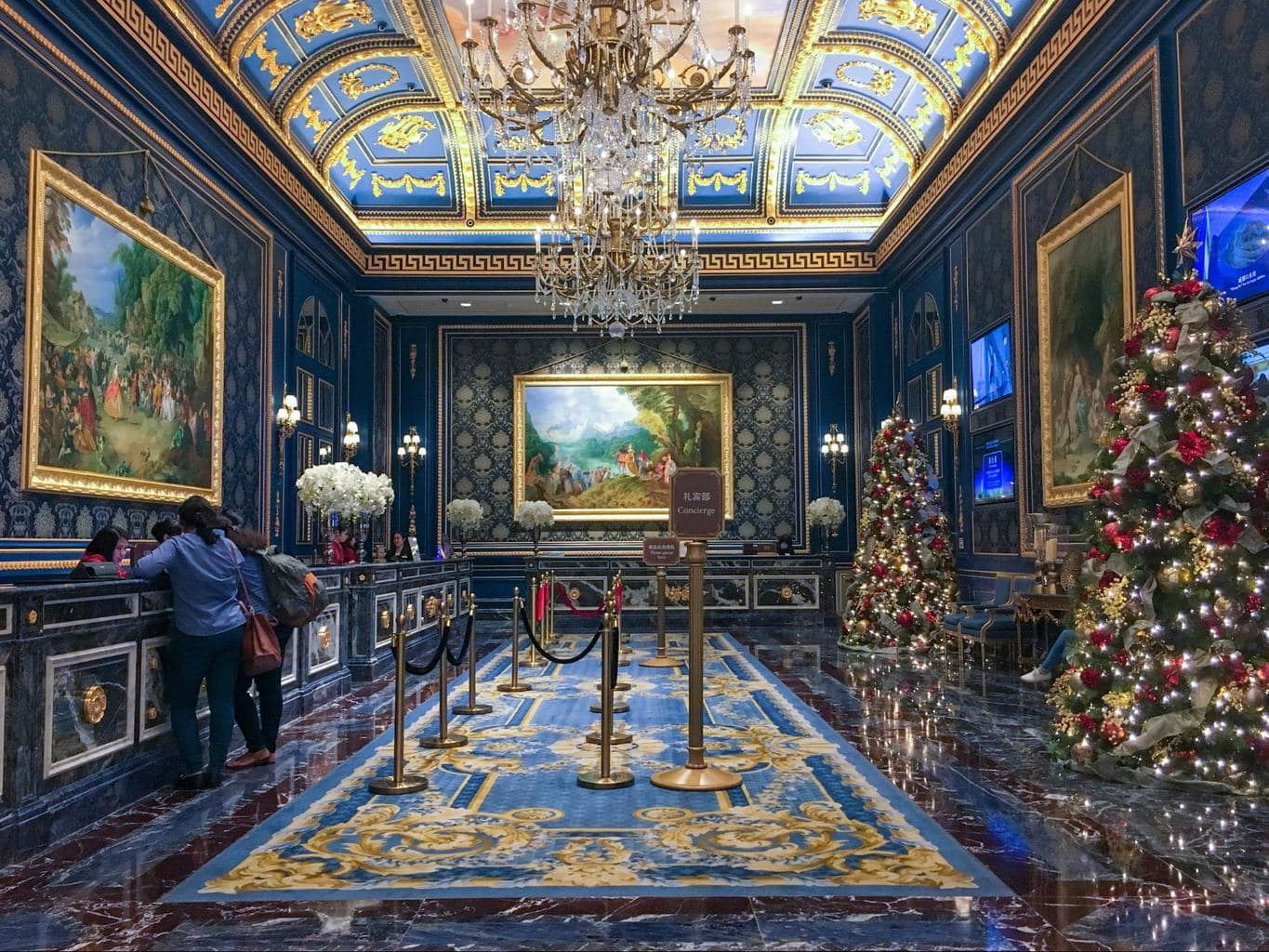 The Parisian Macau Interior