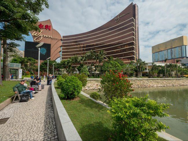 The Wynn Macau exterior