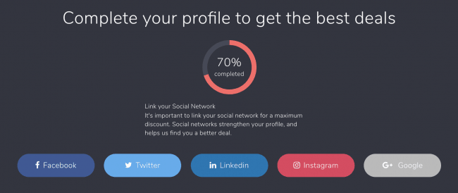 Connecting social media networks in your Nustay profile