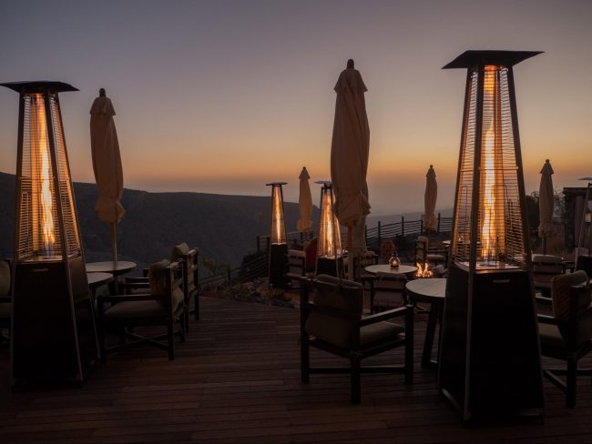 Alila Jabal Akhdar dining