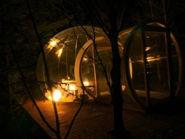 Bubble Hotel in Iceland