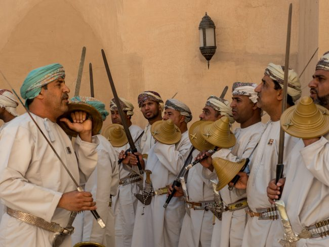 Guards at Nizwa Fort