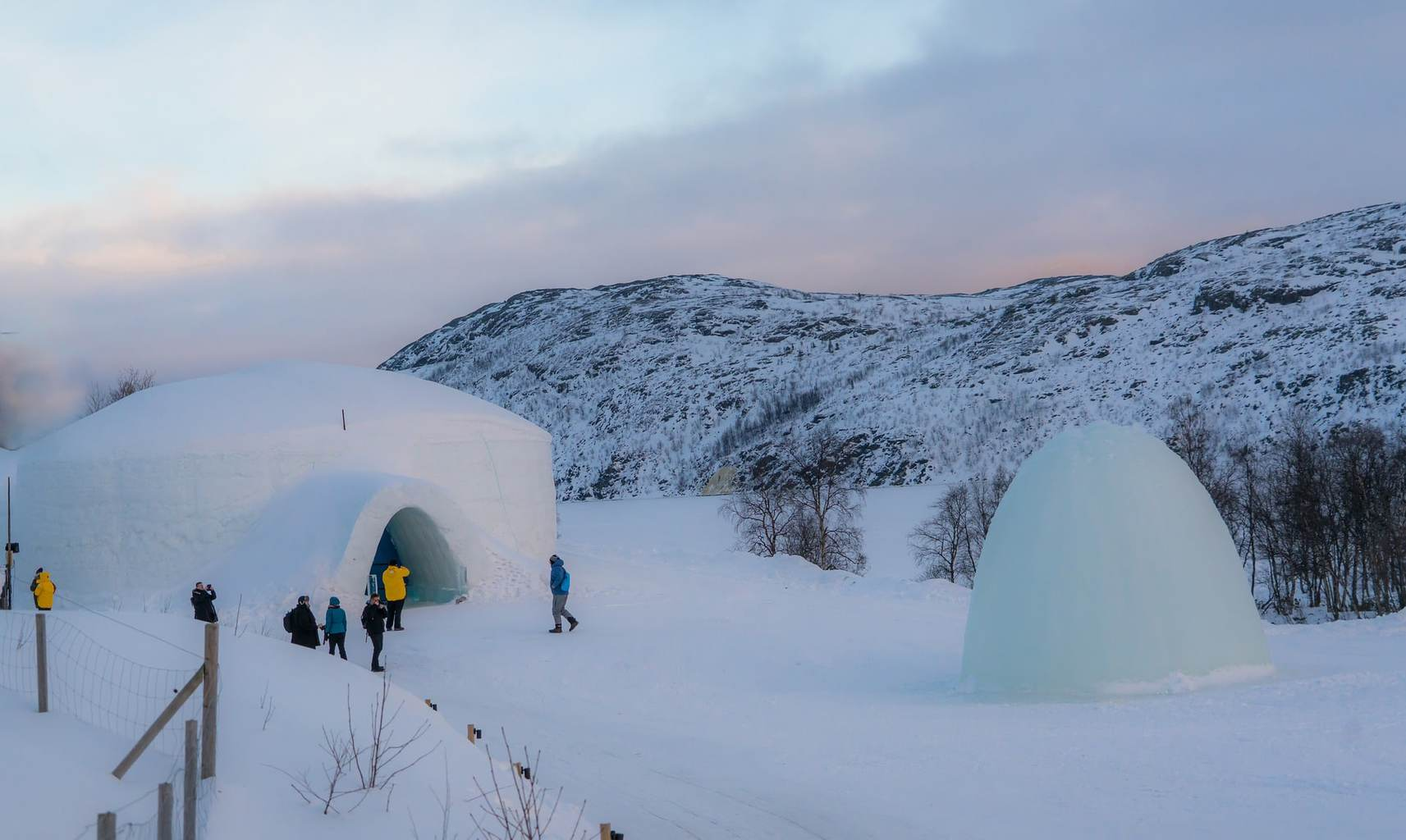 Ice Hotel in Kirkenes