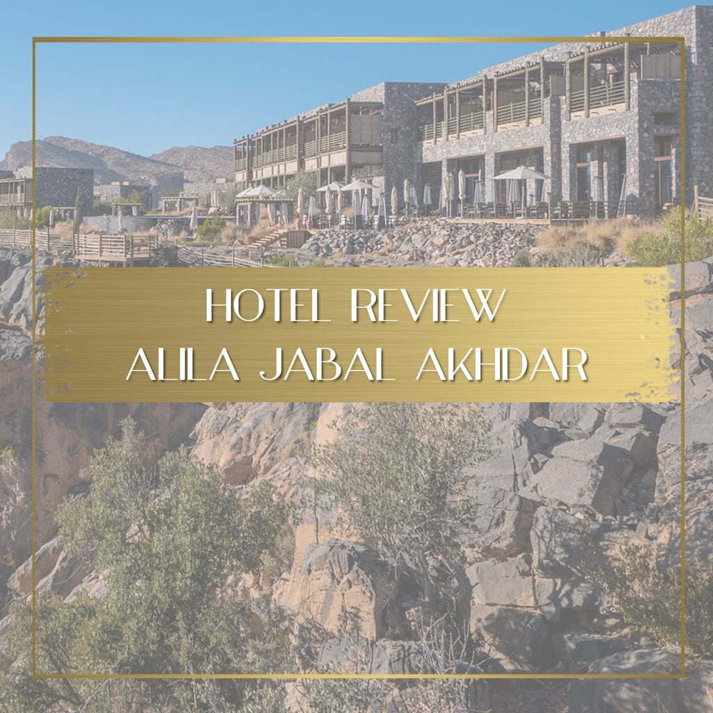 Review of Alila Jabal Akhbar feature