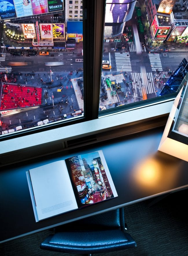 W New York - Times Square view