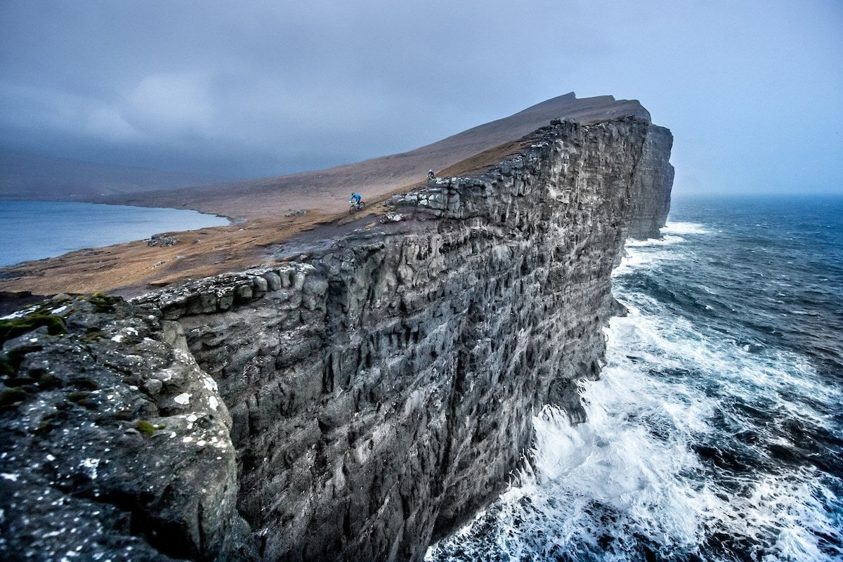 Cycling in the most stunning landscapes of the Faroe Islands