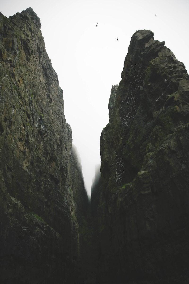 Bird cliffs of the Faroe Islands