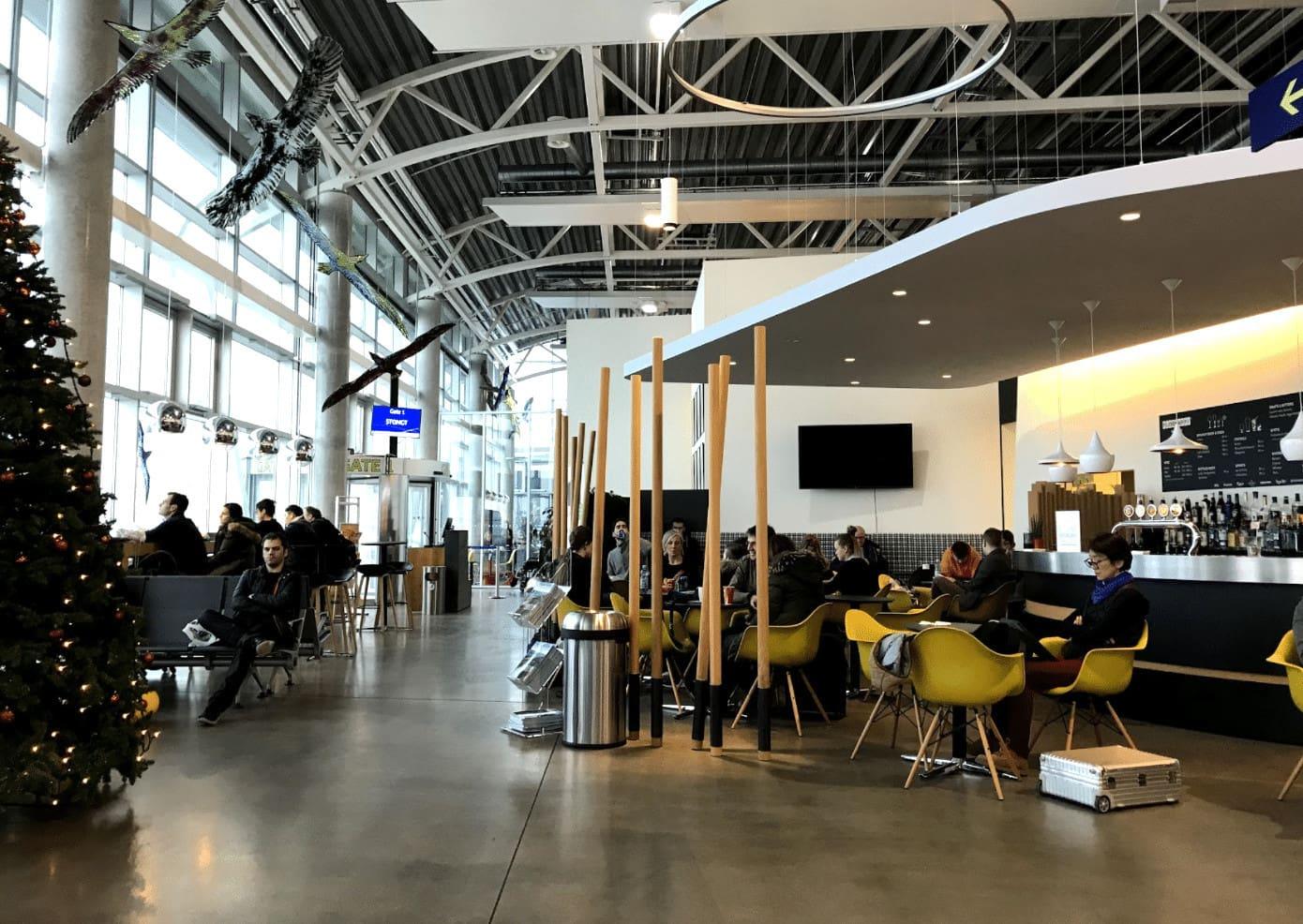 Vagar Airport departures hall