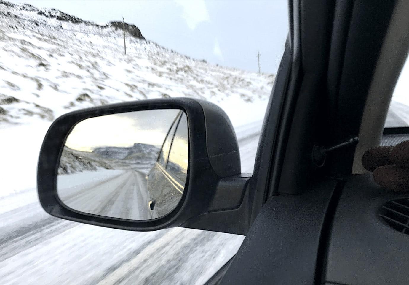 Driving in Faroe Islands