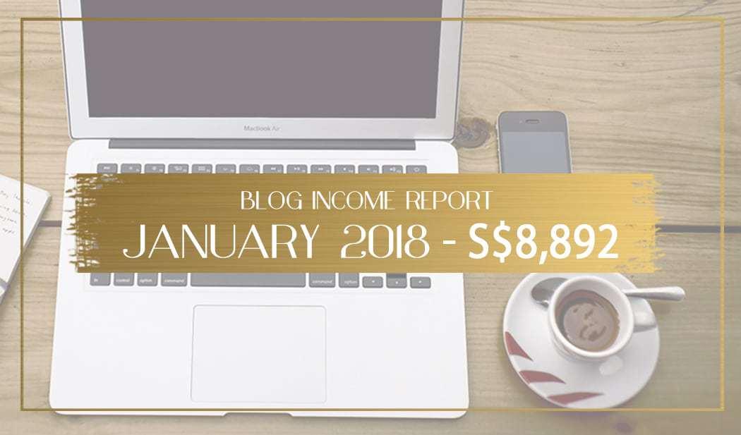 Blog income report January 2018 main