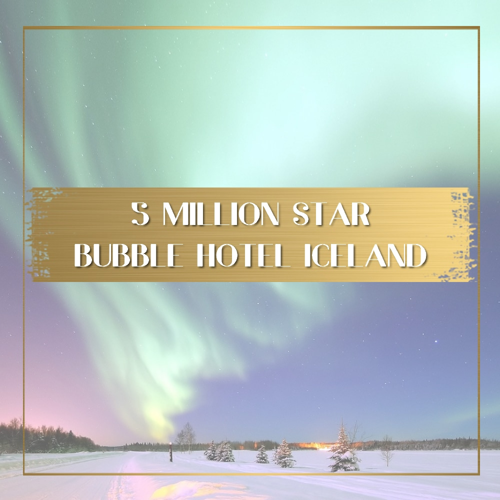 Bubble Hotel in Iceland feature