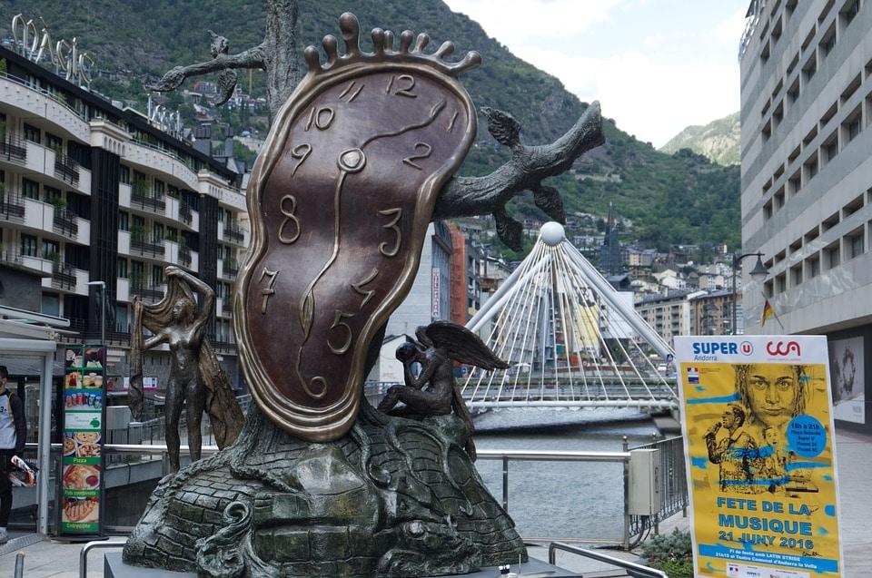 Dali sculture in Andorra