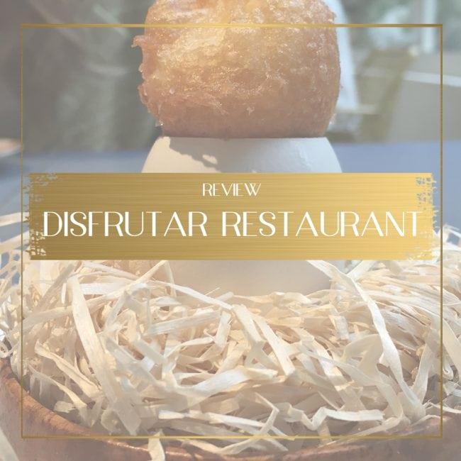 Disfrutar Restaurant Feature