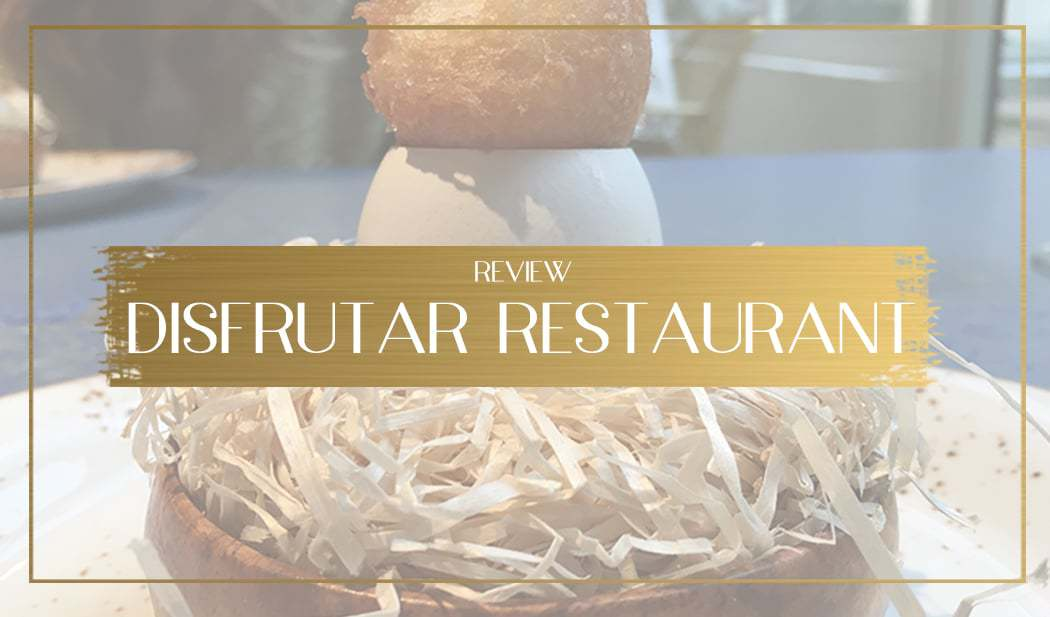 Disfrutar Restaurant Main