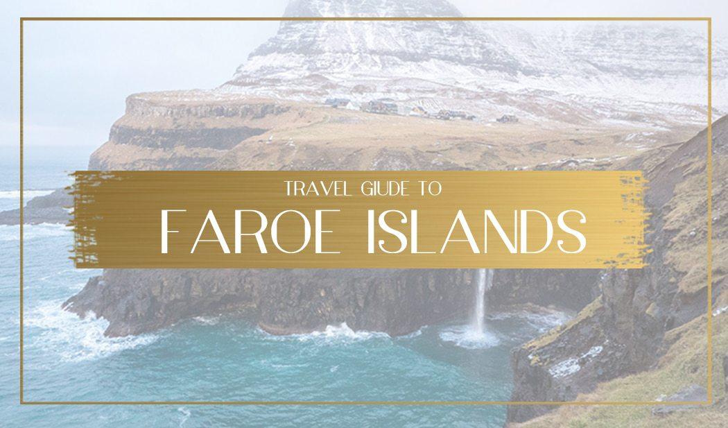 Faroe Islands Main