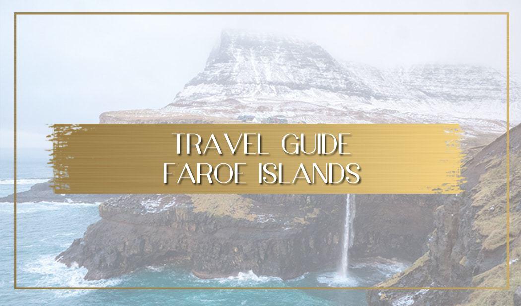 Faroe Islands travel guide main
