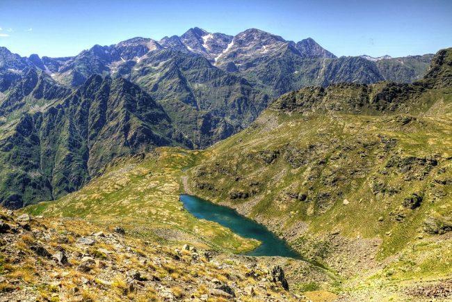 Mountain in Andorra
