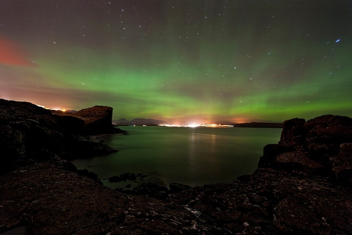 Northern Lights in Faroe Islands