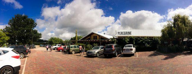 Peregrine Garden Route parking lot