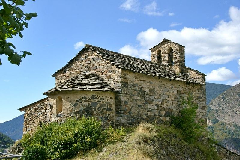 The church of Sant Serni de Nagol