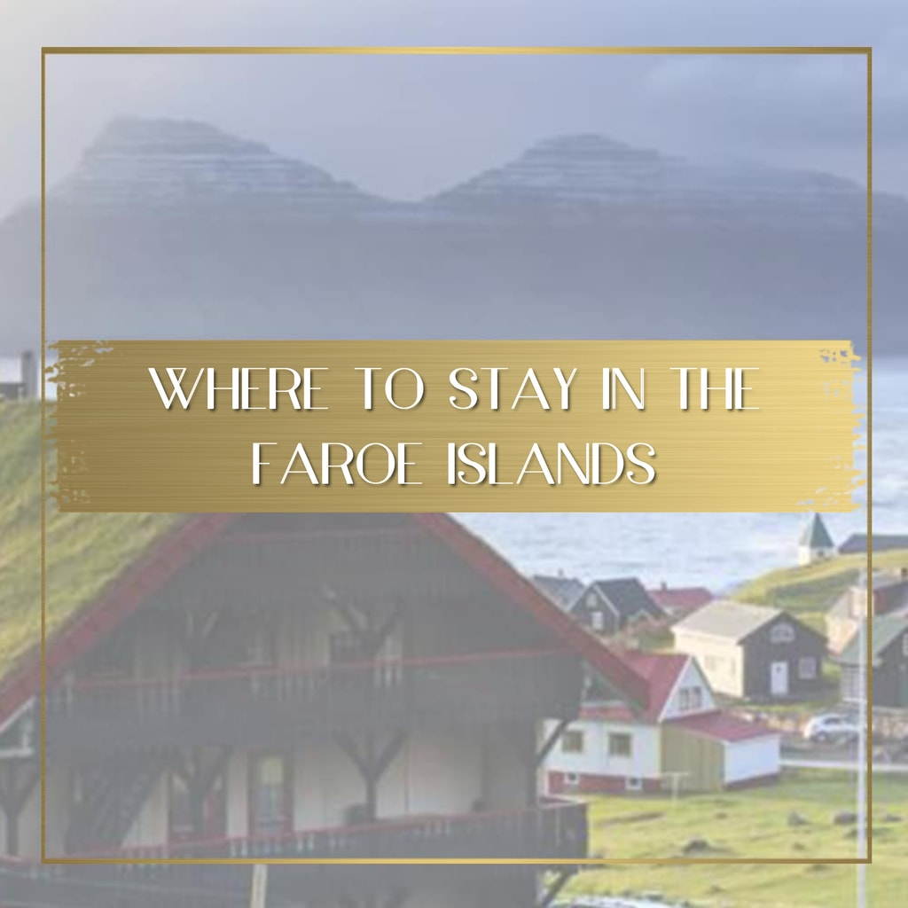 Where to stay in the Faroe Islands feature