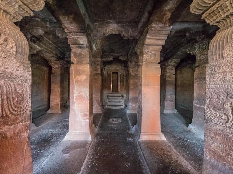 Badami Caves interior