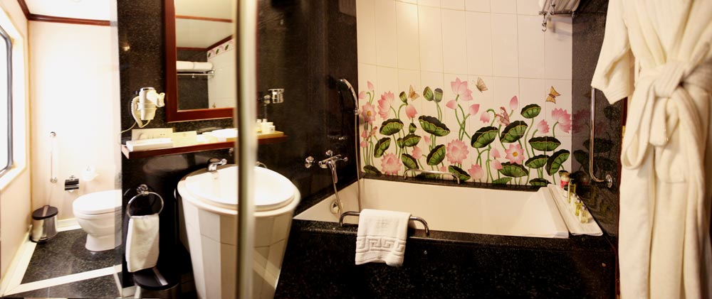 Bath in the Maharajas Express