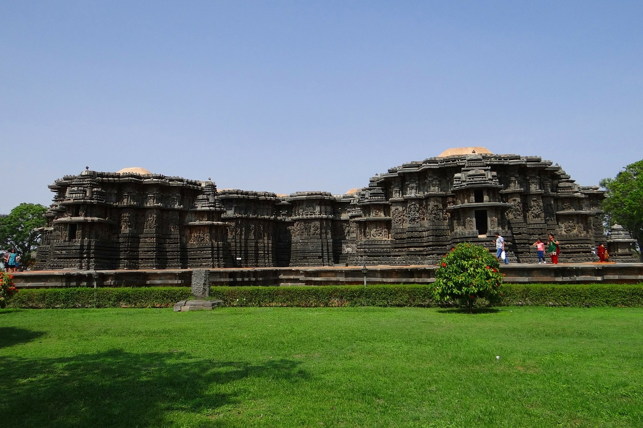 Belur shrine is one of the places in Karnataka to visit