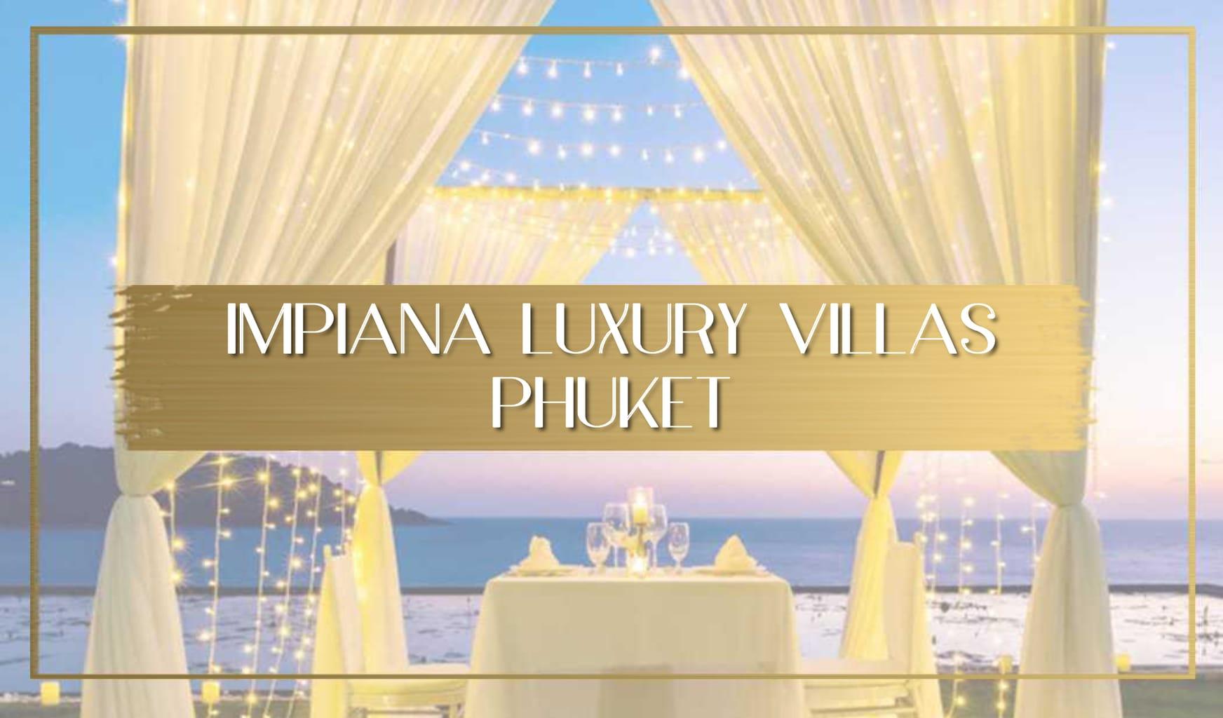 Best Phuket luxury villa Main