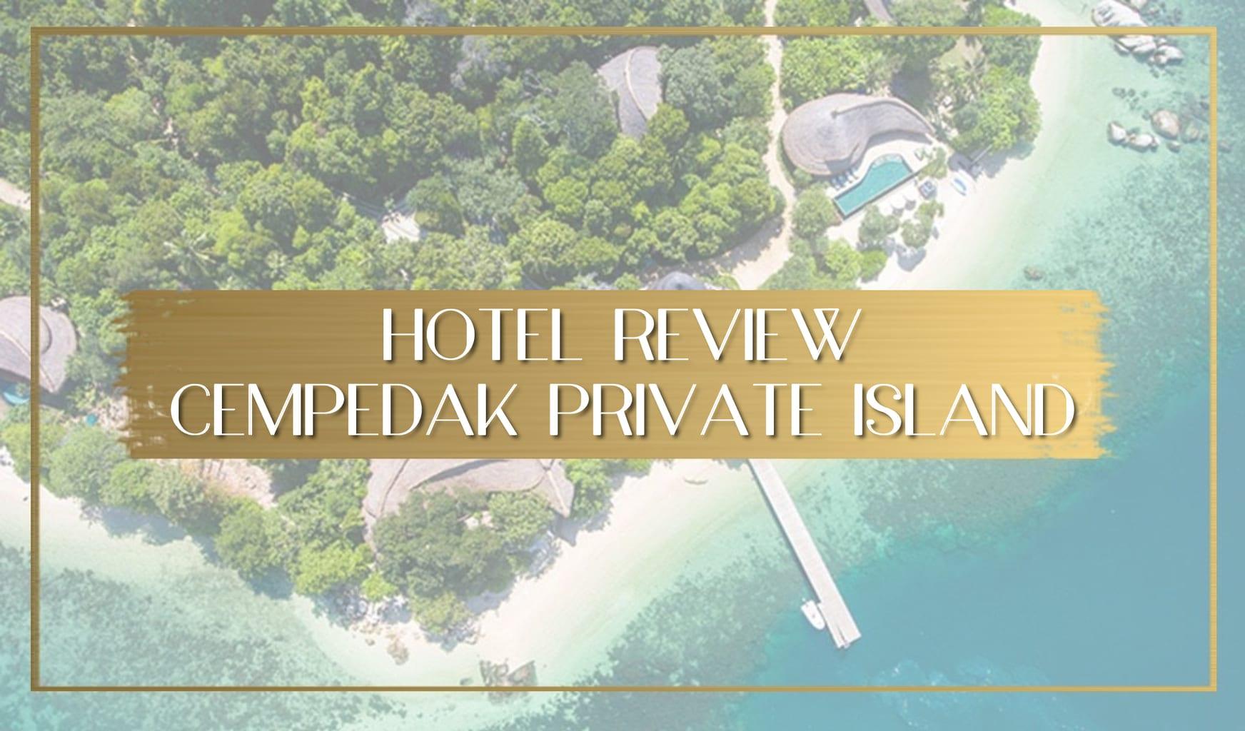 Cempedak Private Island Main