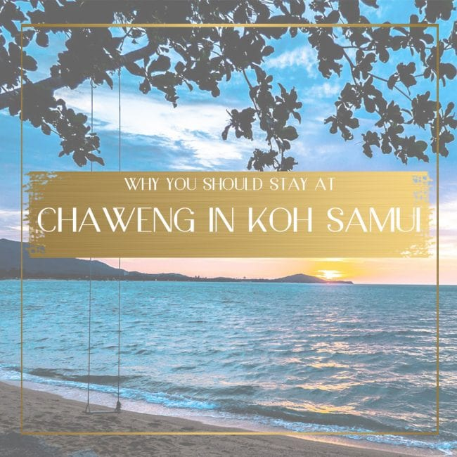 Chaweng in Koh Samui feature