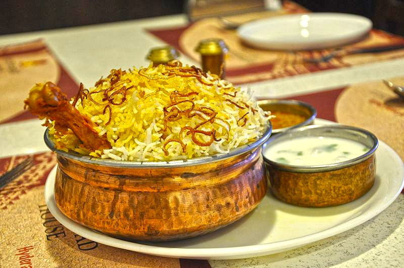 Chicken Biryani in Hyderabadi