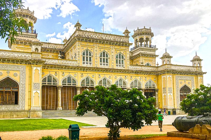 Chowmahalla Palace of Hyderabad