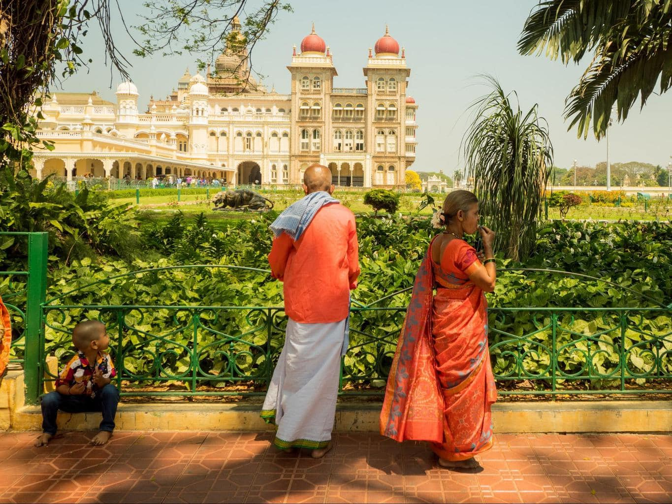 Gardens of the Mysore Palace